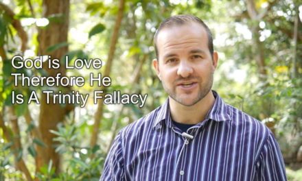 The Fallacy of God is Love Therefore A Trinity
