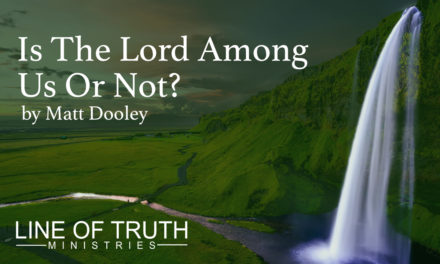 Is The Lord Among Us Or Not?: How Horeb Reveals The Truth of Christ & His Spirit