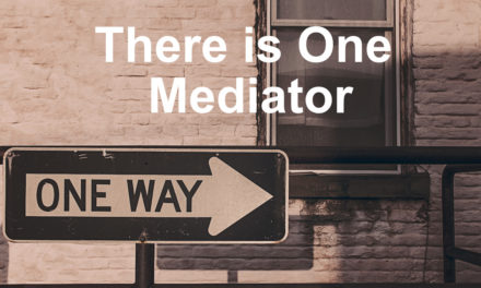 There is One Mediator